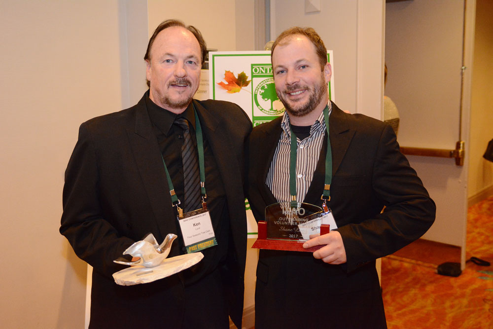International Society of Arboricultre Ontario's (ISAO) for 2017